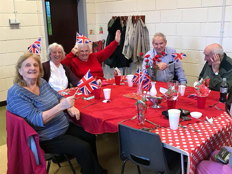 tea party for seniors farley hill