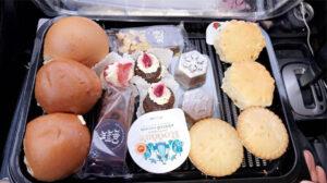 senior treats tray